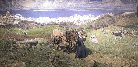Segantini 450 La raffigurazione della primavera 1897 IMAG4083