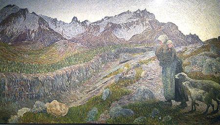 Segantini 450 Le due madri 1981 paesaggio montagna IMAG4097_BURST002_COVER