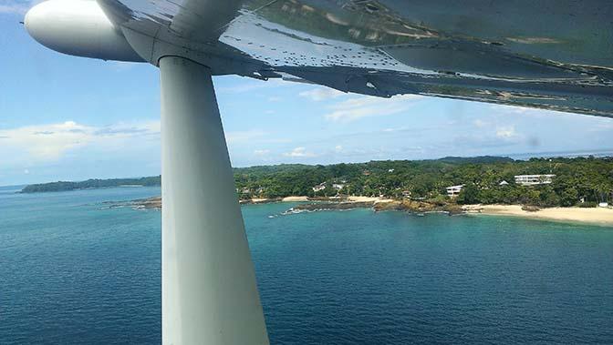 Panama 672 aereo viaggi ok Contadora MAG4528