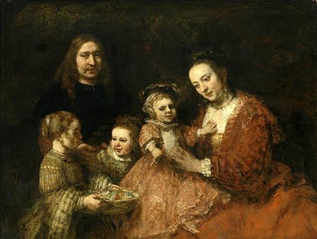 art450 Ritratto di famiglia, Anton Ulrich Museum, Braunschweig. Bassa risoluzione