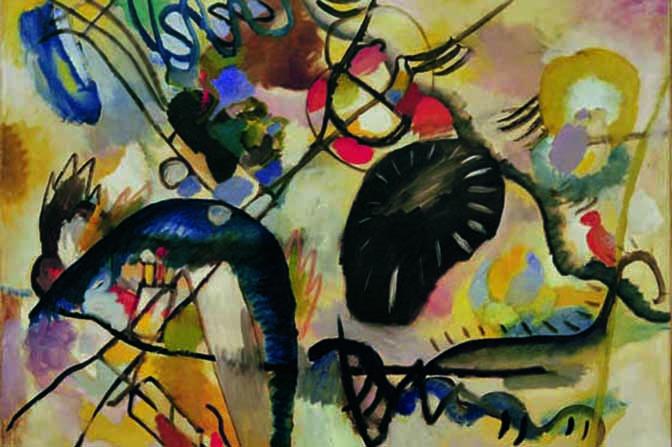 W.Kandinsky, Schwarzer Fleck