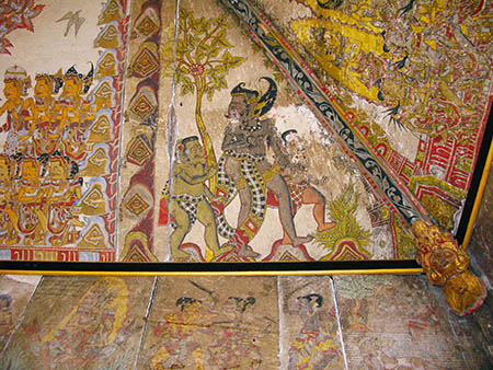 Bali tempio soffitti 82ac