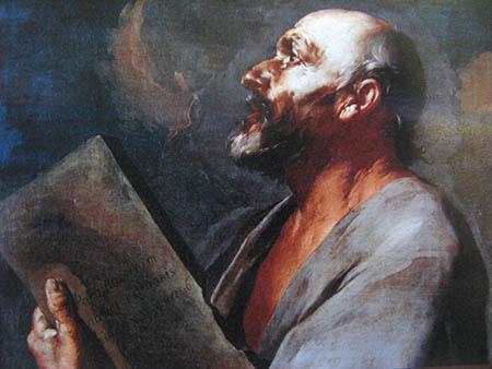 0 ARTE 672 PINACOTECA MENDRISIO GIUSEPPE ANTONIO PETRINI particolare  MADONNA DEL ROSARIO  monastero Bigorio IMG_2519