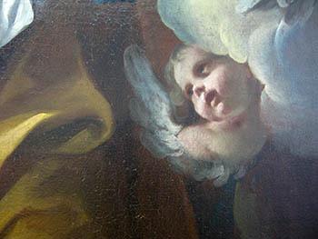 0 arte Federico Ferrario Sant'Anna San Gioacchino e la Vergine bambina particolare