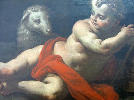 0 arte Giuseppe A F Orelli San Giovanni Battista particolare