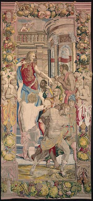 arte 300 10. Bronzino Giuseppe prende in ostaggio Simeone