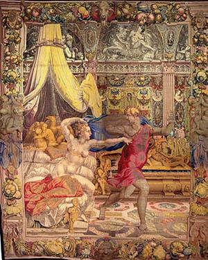 arte 300 6. Bronzino Giuseppe fugge dalla moglie di Putifarre