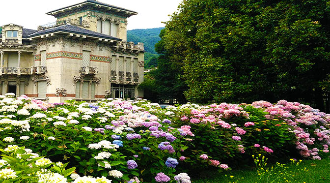 Cernobbio 672 mostra giardino villa liberty