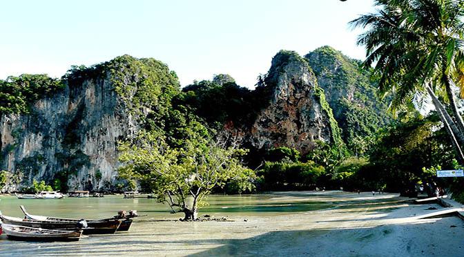 Tailandia 672 spiaggia di railay beach,