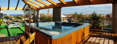 Caorle Hotel Chofe terrazza 400