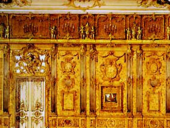 La stanza dell'ambra foto ricostruzione San Pietroburgo