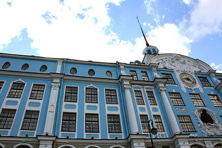 San Pietroburgo Ermitage prospettiva