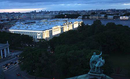 San Pietroburgo dalla chiesa di S Isacco
