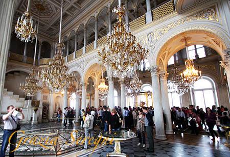 San Pietroburgo firma ermitage salone 3