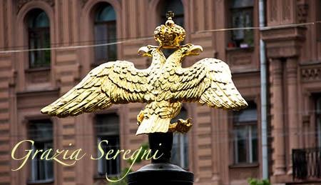 San Pietroburgo firmata aquila