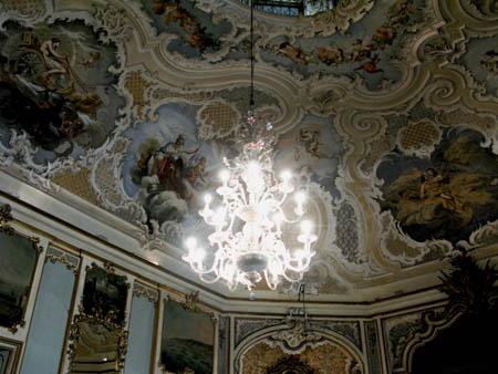 CATANIA PALAZZO BISCARI decorazioni pareti g