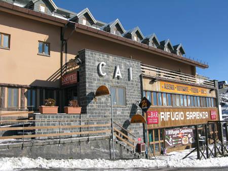 Catania Etna 450 rifugio Cai