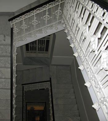 Catania Hotel IL PRINCIPE scalinata liberty