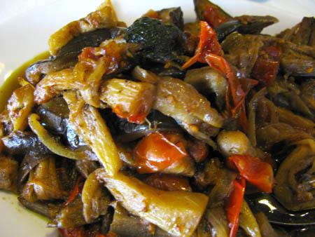 Catania cibo 450 caponata verdure