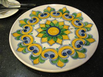 Catania hotel centrale ok chef piatto ceramiche