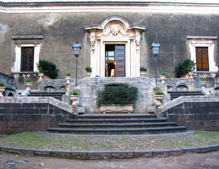 Catania palazzo Biscari ingresso j