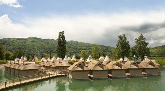"Vacanze ""unconventional"" alle Terme Catez – Terme e … ""camping"" 5 stelle o casa galleggiante"