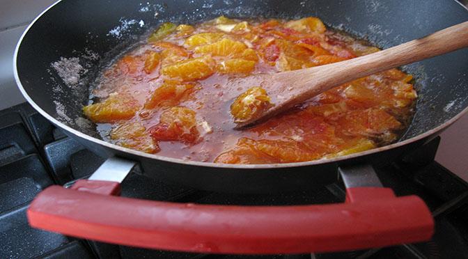 Eccellente marmellata di arance  e salutare