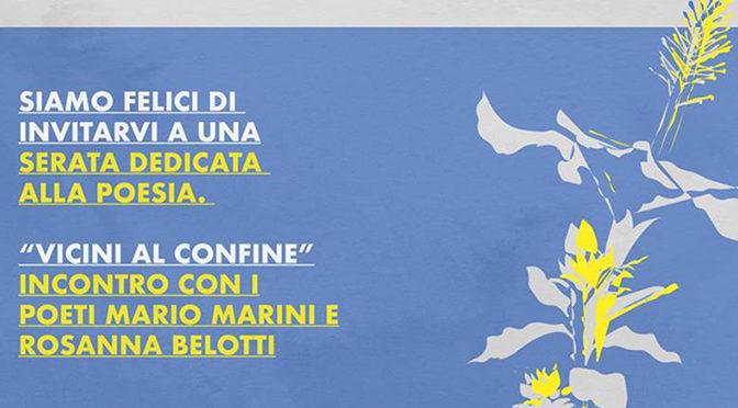 Evento di poesia a Como – Incontro con i poeti Marini e Belotti
