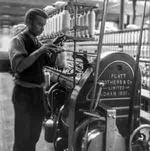 Crespi d'Adda operaio 1800 industria
